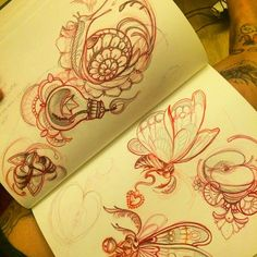 More sketches for @tatuamitattooconvention  #tattoo #sketches #southinktattooshop