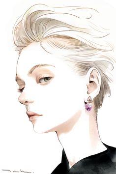 얼굴 그리기 : 네이버 블로그