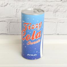 Know someone who's mad about Fizzy Cola Bottles? Make them dance with delight at our Cola Candy Can! £9.99