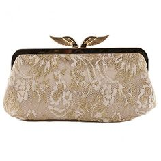 External Description: satin fabric and lace, soft construction Description Internal: organized in a compartment, fabric lining, inside pocket Accessories: accessories metal silver