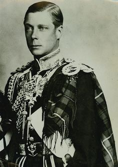 Edward VIII... infamous for his abdication of the throne (the only one in the entire history of British Royals) for love and marriage with Wallis Simpson