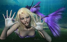 You'll find madam mermaid is waiting for you in mysterious fathoms below...