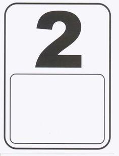 ALFABETIZAÇÃO CEFAPRO - PONTES E LACERDA/MT : Cartazes de Numerais