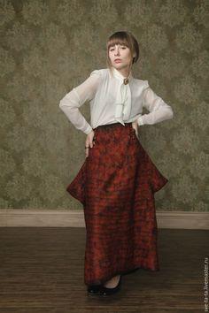 Войлок юбка