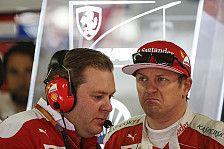 Formel 1 2018: Kimi Räikkönens Ferrari-Renningenieur wandert ab