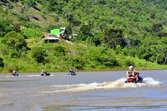 ENEMOTOS: Rio Uruguai recebe evento para motos aquáticas nes...
