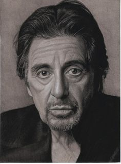Al Pacino by Lizapoly on deviantART ~ traditional pencil