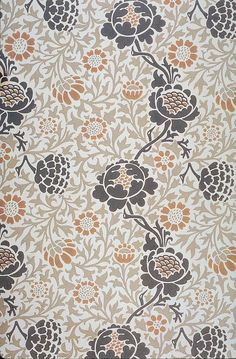 Morris & Co - Grafton wallpaper c 1883