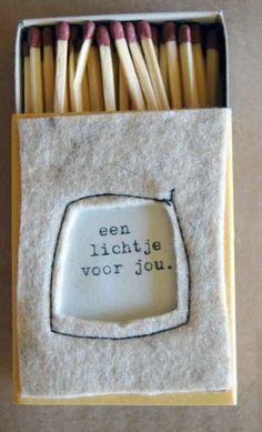 een lichtje voor jou kunst&rituelen Kijk ook voor gepersonaliseerde bedankjes op www.dewonderwerkplaats.nl