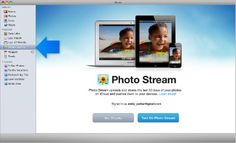 transfer photos from iphoto to photo stream