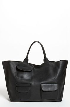 To know more about MARNI Leather Tote, visit Sumally, a social network that gathers together all the wanted things in the world! Featuring over other MARNI items too! Purses And Handbags, Leather Handbags, Leather Bag, Pebbled Leather, Beautiful Bags, Marni, Leather Craft, Fashion Bags, Fall Fashion