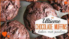 Ultieme CHOCOLADE Muffins - Koken met Pauline   Lifestyle Spot - YouTube Cookies, Chocolate, Desserts, Lifestyle, Food, Youtube, Crack Crackers, Tailgate Desserts, Deserts