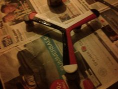 First boomerang I painted. Current status : KIA