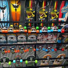 Skateboard Bottom-Up Display Rack