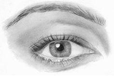 Como desenhar um par de olhos