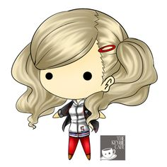 Persona 5 keybies - An Takamaki