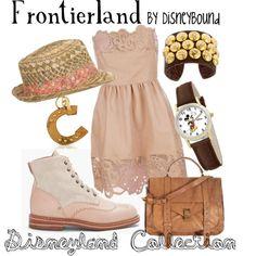 Frontierland from Disneyland