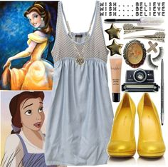 Belle Inspired outfit.