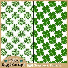 Scrapbooking TammyTags -- TT - Designer - DBS DigiScraps,  TT - Item - Paper, TT - Theme - St. Patrick's Day