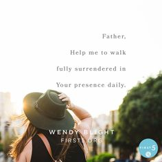 #First5 @First5App Prayer: Father, thank You for the indwelling presence of Your Holy Spirit. Help me to walk fully surrendered in Your presence daily. Through it, may I know how wide and high and deep and long is Your love. Help me to walk in humility and celebrate the successes of those around me, free of jealousy and envy all the days of my life. In Jesus' name, amen.
