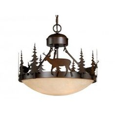 "Bryce 18"" Semi-Flush Ceiling Light"