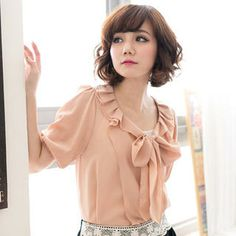 Buy 'CatWorld – Tie-Neck Chiffon Blouse' at YesStyle.com plus more Taiwan items and get Free International Shipping on qualifying orders.