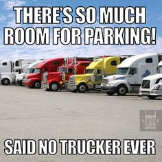 One of the reasons we support Jason's Law! There must be enough safe, clean parking for our nation's drivers.