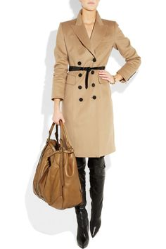 a neutral mid length jacket to be dressed up or down