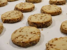 Mennonite Girls Can Cook: Toffee Nut Refrigerator Cookies Amish Cookies, Toffee Cookies, Brownie Cookies, No Bake Cookies, Refrigerator Cookies Recipes, Cookie Recipes, Cookie Pizza, Cookie Dough, No Bake Desserts