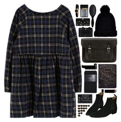 """211216"" by rosemarykate ❤ liked on Polyvore featuring The Cambridge Satchel Company, Holga, River Island, Zara, Topshop, H&M, Marc by Marc Jacobs, ootd and wiwt"