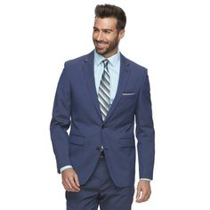 Men's Apt. 9® Premier Flex Extra-Slim Fit Suit Separates | null