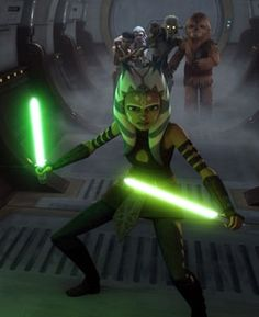 I am Ahsoka Tano, and I have to defend THESE younglings! Star Wars Clone Wars, Star Wars Rebels, Star Wars Art, Kit Fisto, Hobbit, Asoka Tano, Star Wars Personajes, Star Wars Images, Star Wars Wallpaper
