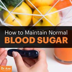Normal blood sugar - Dr. Axe