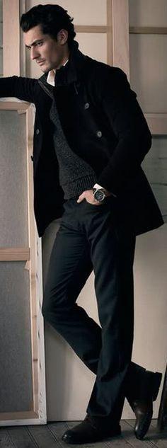 ~David James Gandy~ in black