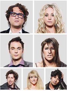 What happened?  The Big Bang cast looking like mug shots after a night with too many shots!  #TBBT #TheBigBangTheory #TV