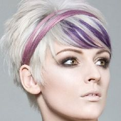 21 Brilliant Bright Hair Color Ideas For Bangs Peek A Boo Hair Color Ideas