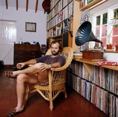 """John Peel's Personal Record Collection is Being Digitized - Bookmark this. """"The project (containing over 26,000 LPs, 40,000 singles and many thousands of CDs) will release the names and song titles of 100 records a week from the collection, for 26 weeks between May- Oct, featuring the first records from one letter of the alphabet each week. People will be able to listen online to many of these records via links compiled by the project."""""""