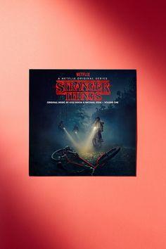 Slide View: 1: Kyle Dixon & Michael Stein - Stranger Things Original Series Soundtrack Vol. 1 Deluxe 2XLP