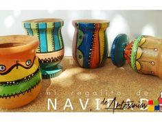 Ceramic Pots, Ceramic Pottery, Painted Clay Pots, Sewing Crafts, Diy Crafts, Mexican Art, Flower Pots, Tea Pots, Ceramics