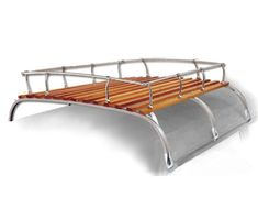 15-2011, 15-2012, 15-2017 Empi. Classic Vintage Type 2 Westfalia Bus Luggage Roof Rack for VW Volkswagen Van . This roof rack will fit all Volkswagen type 2 buses and double cabs 1950-1079. I have even heard it fits some the classic chevy cars. This is a