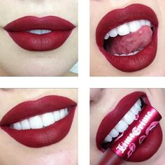 Ccclarkebeauty lips are so perf in our Wicked Velvetine!