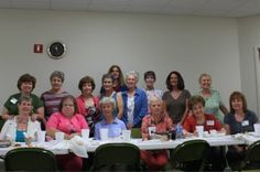 Colleen Davis sent in this photo of her precious group of ladies from Grace Community Church in Tyler, Texas. Abounding with creativity, this Woman's Bible Study group, while reading Scouting the Divine, made lemon cakes in the shape of beehives! They also made honeybee scones and drizzled local honey on top–yummy!