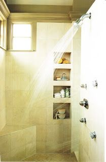 Designing Your Dream Home: Shower shelves