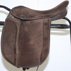 "Second Hand Flyde ""Style"" Suede Show saddle. 16ins, £375.00"