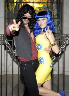 150+ Celebrity Halloween Costumes: Jason Priestley and his family posed in character at an LA event in 2008. : Audrina Patridge showed up to a 2007 party in LA dressed as The Material Girl. : In 2009, Rico Rodriguez went as Superman in Hollywood. : In 2008, Kim Kardashian and Reggie Bush partied the night away at LA's Pur. : Hilary Duff and Mike Comrie matched as burglars while out in LA in 2011. : Sophia Bush and Austin Nichols went as Katy Perry and Russell Brand at an LA function in 2010.