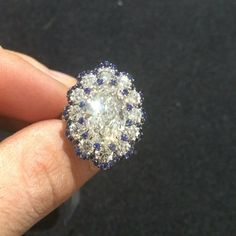 Happy Valentines Day!  #DavidMorJewelry #ring #jewelry #diamonds #handmade #jewels #platinum #fancy #luxury #rare #love #design #sapphire #style #precious #color #stones #highjewelry #beauty #diamond #custom #instajewelry #accessories #valentinesday #sparkle #platinumjewelry #engagement #blue #luxuryjewelleryevents