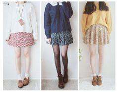 Cute korean ulzzang fashion