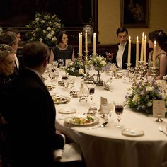 Downton Abbey Housekeeper | How to throw a Downton Abbey dinner party - Good Housekeeping
