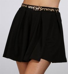 #Windsor                  #Skirt                    #Black #Pleated #Skirt #With #Leopard #Skinny #Belt                           Black Pleated Skirt With Leopard Skinny Belt                                  http://www.seapai.com/product.aspx?PID=1734066