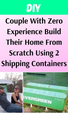 Shipping Container Homes, Shipping Containers, Life Hacks List, Tiny Little Houses, Craft From Waste Material, Container Houses, Building Ideas, Just Amazing, Diy Hacks